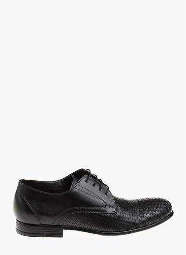 Divarese Divarese Erkek Deri Siyah Klasik Ayakkabı Siyah